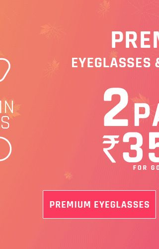Eyeglasses - 2 For 3500