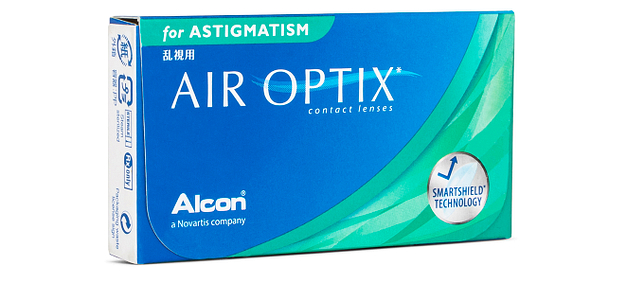 Alcon  Air Optix for Astigmatism Contact Lens - 6 LP