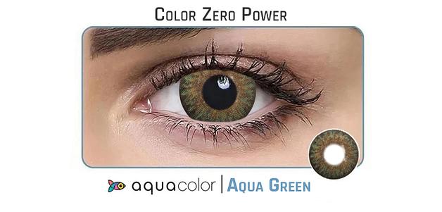 Aquacolor_Dailies 10LP Aquacolor Aqua Green Dailies Color