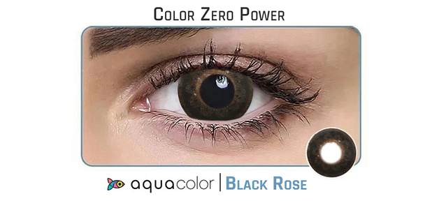 Aquacolor  Black Rose Dailies Color