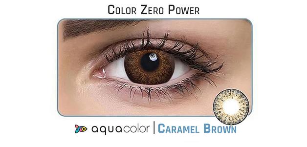 Aquacolor_Dailies 10LP Aquacolor Caramel Brown