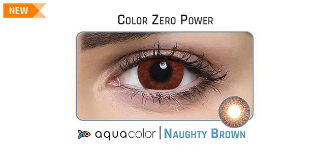 Aqualens_CandyPack 2LP Aquacolor Naughty Brown