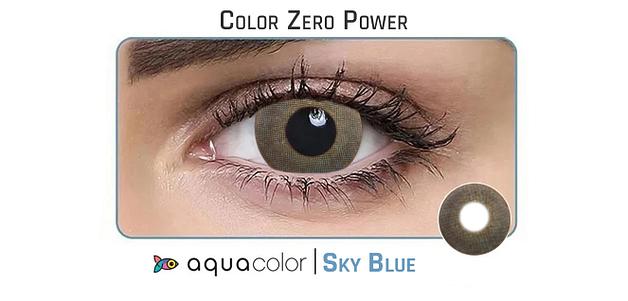 Aquacolor  Sky Blue Dailies Color