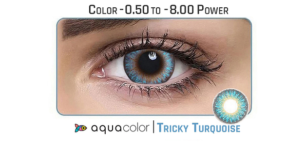 Aquacolor  Tricky Turquoise