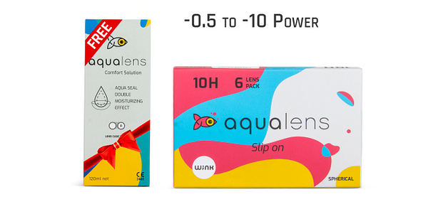 Aqualens  Monthly 10 Hours (6 Lens)