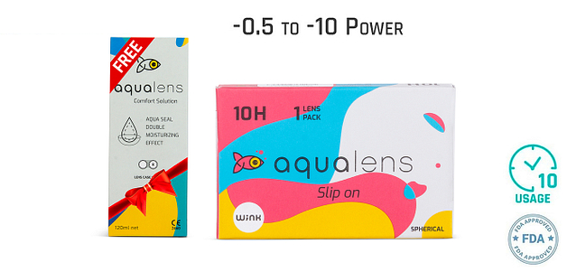 Aqualens  Monthly 10 Hours (1 Lens)