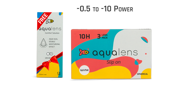 Aqualens  Monthly 10 Hours (3 Lens)