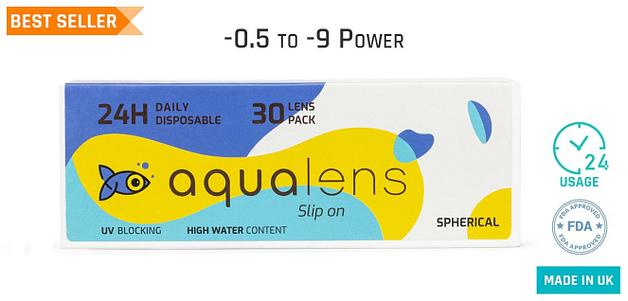 Aqualens  Daily 24 Hours (30 Lens)