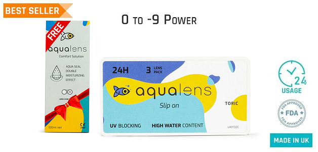 Aqualens  Toric Monthly 24 Hours (3 Lens)