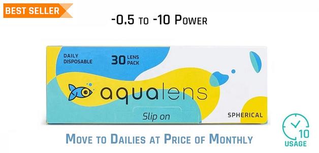 Aqualens  Daily 10 Hours (30 Lens)