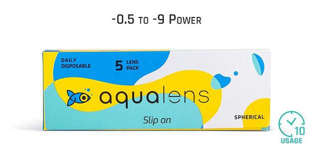 Aqualens_Dailies 5LP Aqualens Daily 10 Hours (5 Lens)