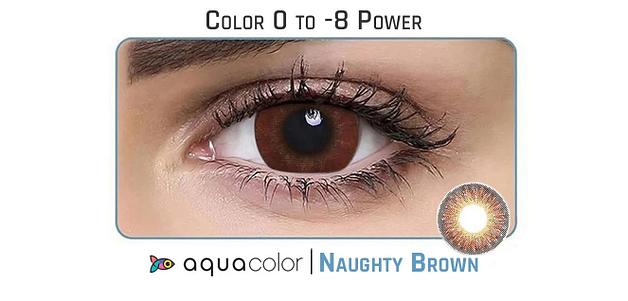 Aquacolor  Naughty Brown