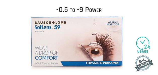 Bausch & Lomb Soflens 59 Monthly 10 Hours (6 Lens)