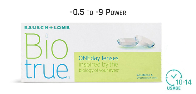 Bausch & Lomb Bio True One Day Lenses
