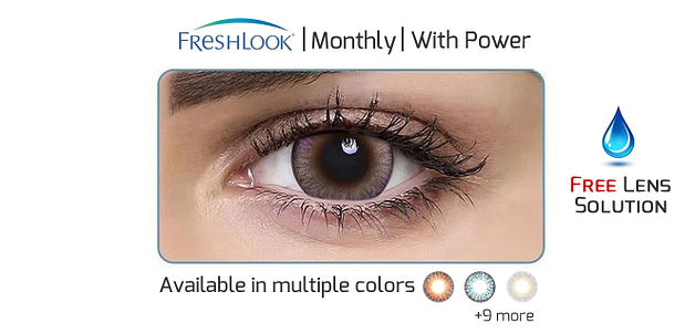 Freshlook  Monthly (Power 0 to -8)