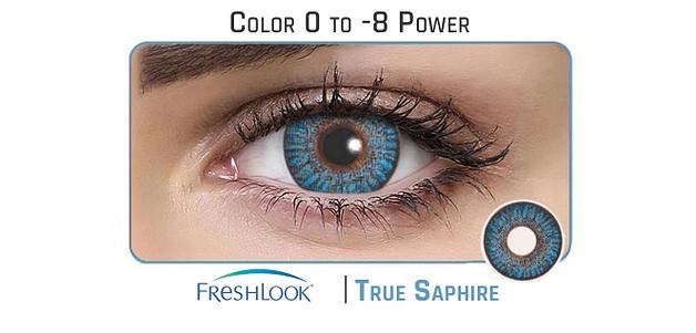 Freshlook  True Sapphire