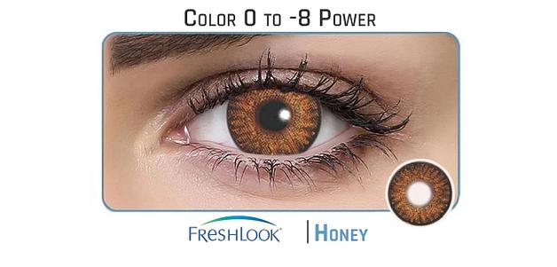 Freshlook  Honey