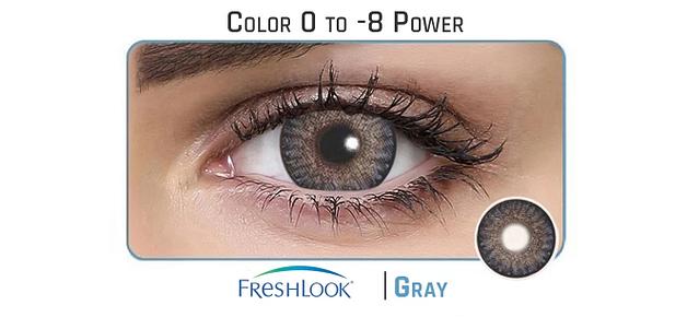 Freshlook  Gray