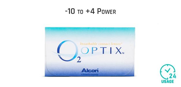 Alcon O2 Optix Monthly 24 Hours (6 Lens)