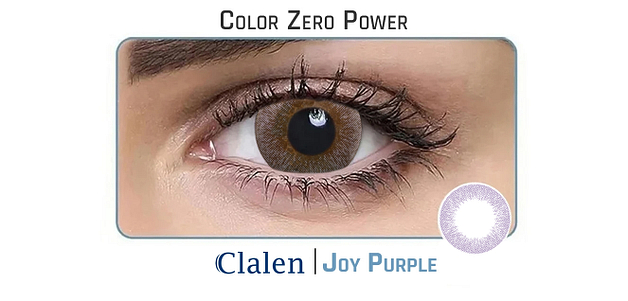 Clalen Iris  Joy Purple