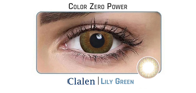 Clalen Iris  Lily Green