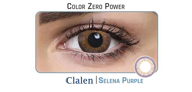 Clalen Iris  Selena Purple