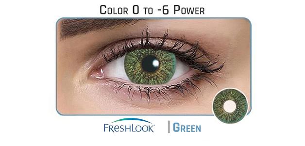 Alcon Freshlook Dailies Green