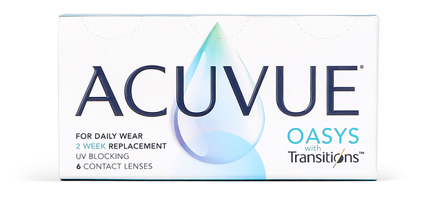 Johnson & Johnson Acuvue Oasys with Transitions