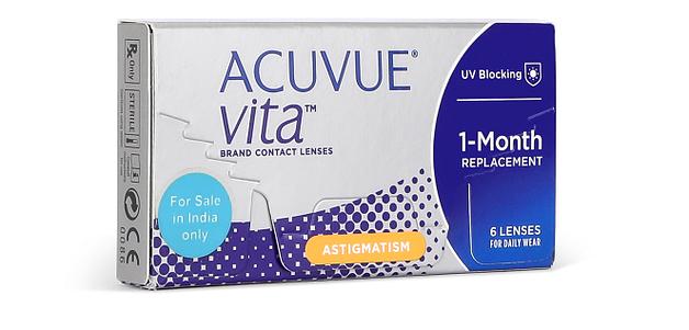 Johnson & Johnson Acuvue Vita For Astigmatism