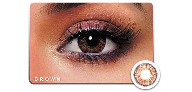 Nayana  Three Tone Brown Color